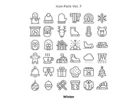 Vol. 7 - Winter Icon Pack