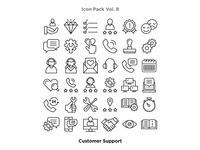Vol. 8 - Customer Support Icon Pack
