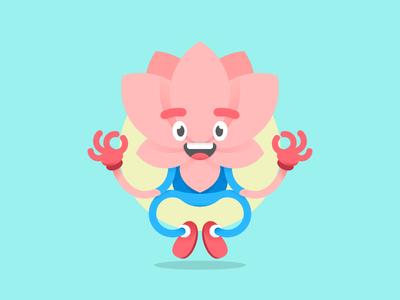Lotus Character - Meditation