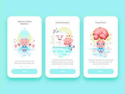 Lotus Character App UI
