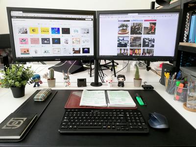 Desk Setup Designs Themes Templates And Downloadable