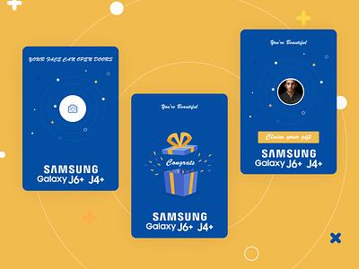 Samsung camera j4 j6 samsung business app design ui ux product design