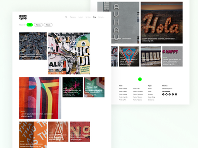 Protype Blog uxdesign uxui ux filter category content article typeface typeography protype blog