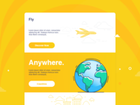 Fly - Daily UI 03