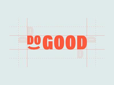 DoGood logotype logotype green slow good do branding identity logo