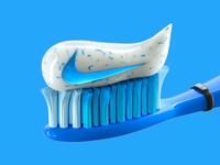 Just wash teeth