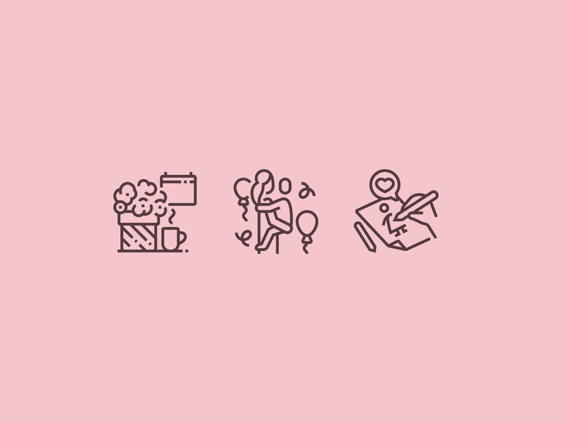 Mother´s Day Icons vector illustration perfect pixel icons icon family child flower celebration celebrate mothersday mother mom
