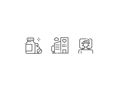 Health icon doctor pills tablets disease hospital people perfect pixel icon health medicine medical