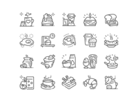 Good morning! Amazing Breakfast Icons are here!