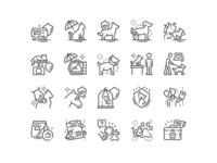 Pet Insurance Icons