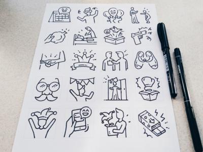 April Fools' Day sketches