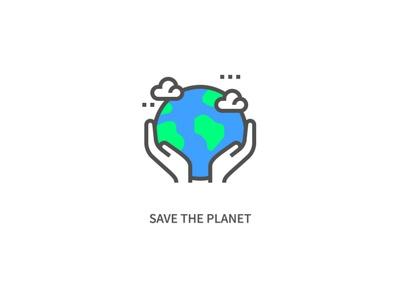 Save the Planet Icon
