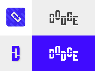 Dodge Logo icon game logo vibrant dodge