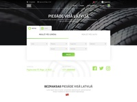 Online store for tires