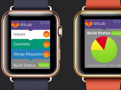 Gitlab Apple Watch