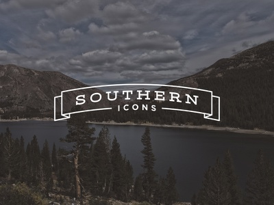 Southern Icons is Live! branding identity logo southern icons iconography vintage nostalgic moonshine georgia tennessee south