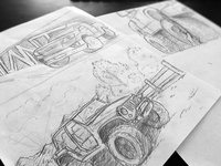 Quick Sketches for Off-Road Composite