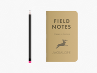 Jackalope Field Notes
