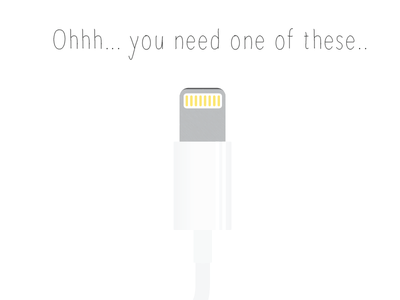 Lightning Cable apple lightning cable bored riffing illustrator vector is better ios8