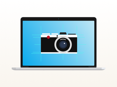 "I ""like a"" good camera as much as the next guy.. illustrator sketch vector makeamericagradientagain camera illustration"