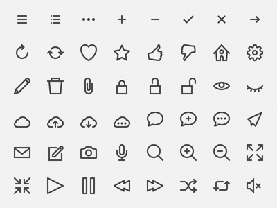 hicons – free outline icons hicons icons free outline simple stroke vector illustrator ai
