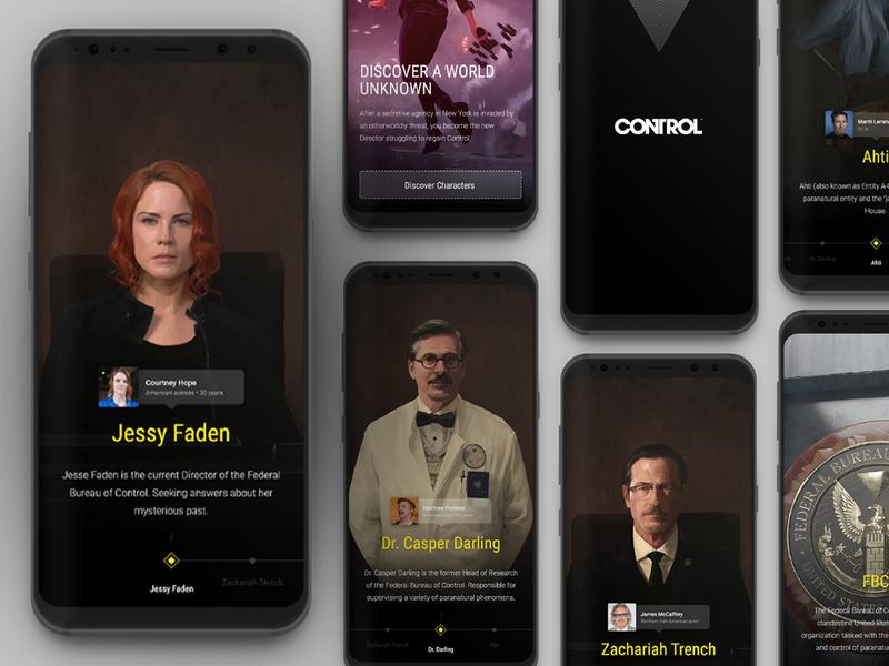 Control concept games control fanart minimal ux icon app ui