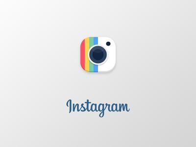 Instagram Logo  edit photo redesign rebrend logo instagram