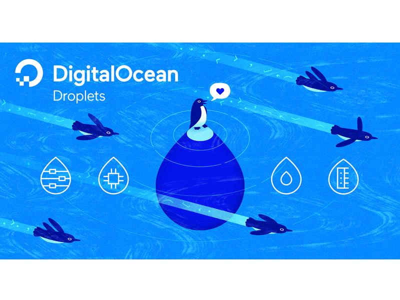 Droplets announcement illustration