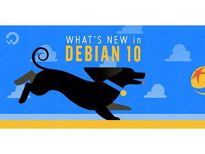 Debian illustration @digitalocean debian