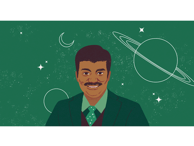 Black History Month - Neil DeGrasse Tyson space stem black history month