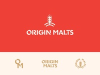 Origin Malts Final Logo Suite
