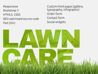 Lawn Care Service Theme