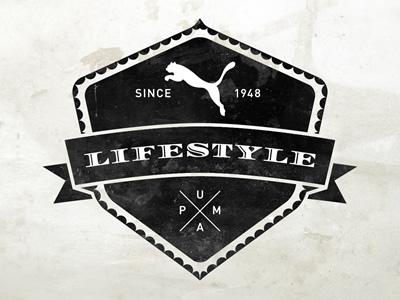 Puma Lifestyle NL sport logo vintage puma