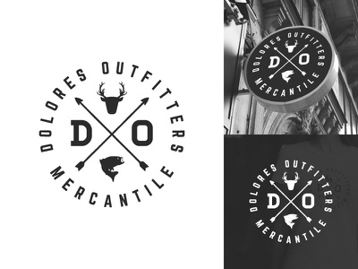 Outdoor Clothing Logo Badge arrow logo arrows x logo facade sign apparel logo clothing clothing brand fish deer logo outdoors outdoor badge minimal retro badge hipster vintage logo