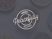 Peacefully Plated Logo