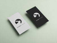 Rabbit Hole Logo and Business Card Design