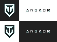 Angkor Logo Guides and Font modification
