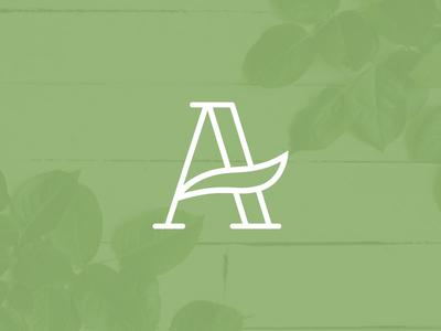 A Leaf Lettermark
