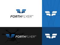 Forth Flyer Logo & Brand Identity