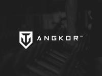 Angkor Logo & Brand Identity