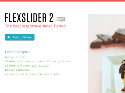 FlexSlider 2 Beta Branch is Live by Tyler Smith on Dribbble