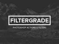 FilterGrade update work filter photography actions photoshop filtergrade