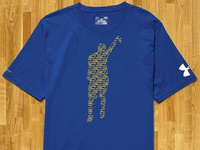 UA Steph Curry Graphic T Design Proposal