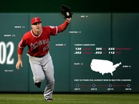 No Doubt Trout Infographic (made in 2014)