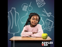 USApple's Apples4Ed Campaign Illustrations