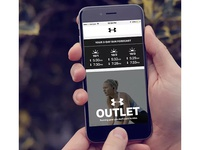 Under Armour Weather Forecast Email Modules 2