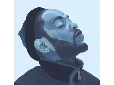 Kung Fu Kenny (Layered) by Matt Hodin music vector brand illustration logo graphic design matt hodin design design matt hodin