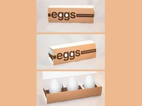 3-Egg Packaging Design by Matt Hodin