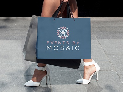 Events By Mosaic Logo Design