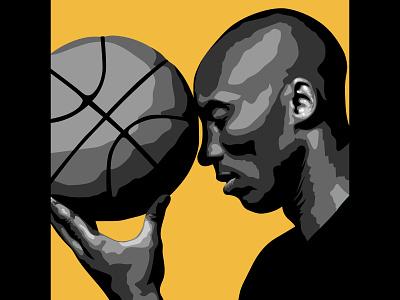 RIP KOBE ripkobe basketball nba 24 8 kobe bryant kobe logo vector illustration graphic design matt hodin design design matt hodin